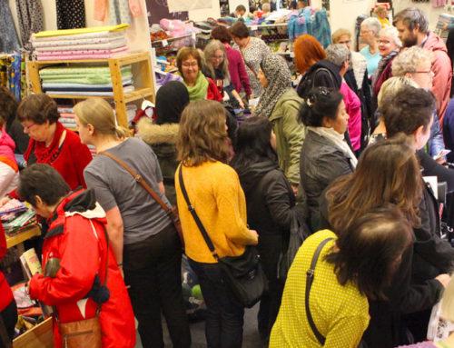 Säljare till Sy- & Hantverksfestivalen